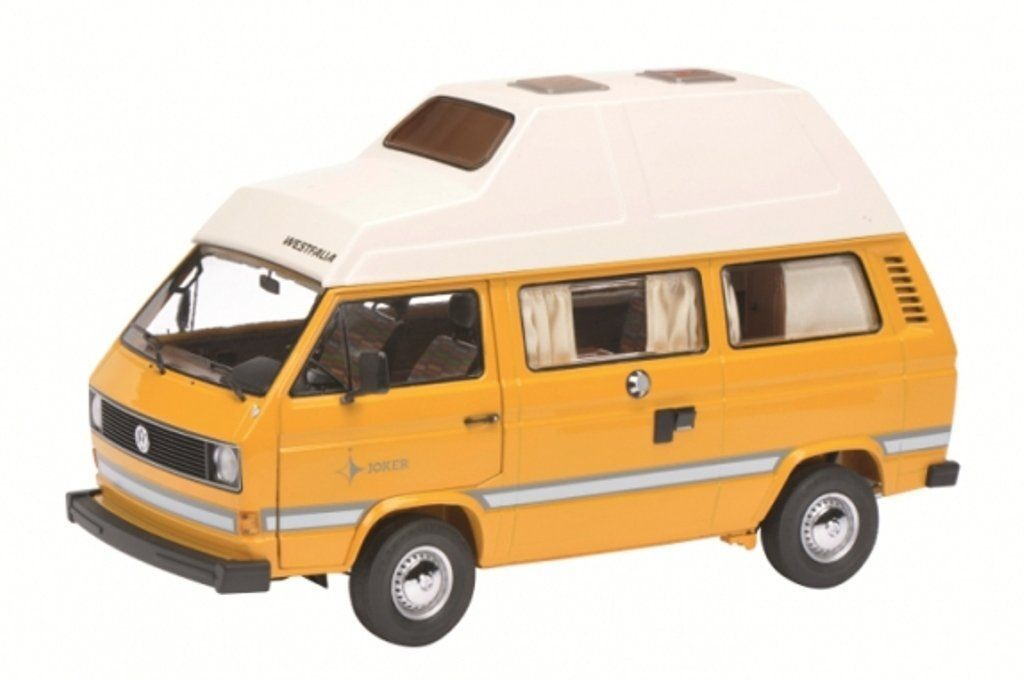 VW T3 Joker Camper - Dark Yellow  1 18 Schuco