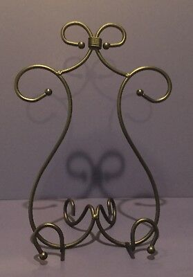 #40022 Southern Living RED MOUNTAIN Iron Cook Book Stand Plate Holder Art Easel