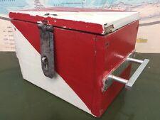 Antique Wooden Ballot Box Made in Poland Communist Chest Eastern Bloc Vintage