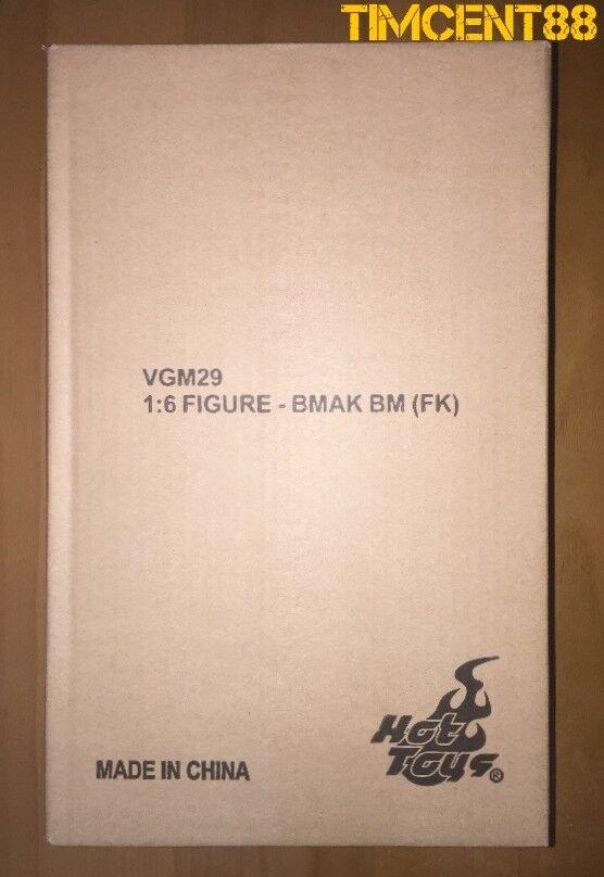 Ready  Hot Toys VGM29 Arkham Knight Batman Futura Knight Red Version 1 6 New