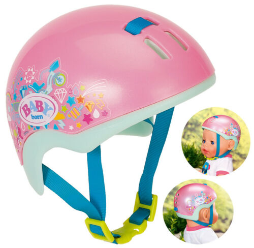 Pink Zapf Creation Baby Born Play&Fun Fahrradhelm 43 cm Kleidung & Accessoires