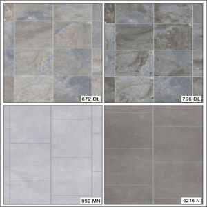 Image Is Loading Thick 4mm Tile Stone Effect Anti Slip Home