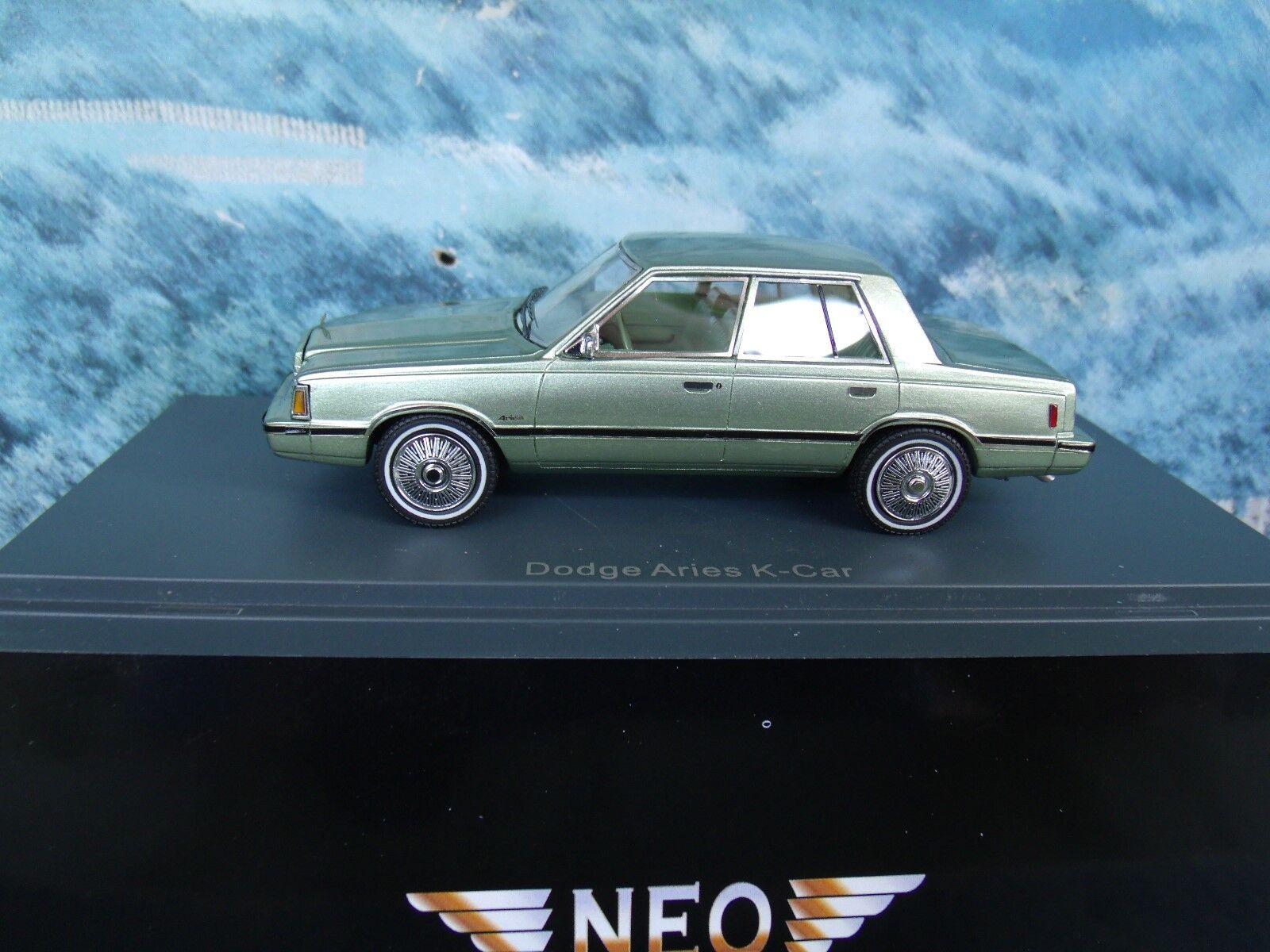 1 43  NEO  DODGE Aries, K-Car 1983