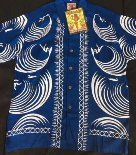 Hawaiian Loud Mambo Rare Large Wipeout Australian Shirt qSgS4Hx