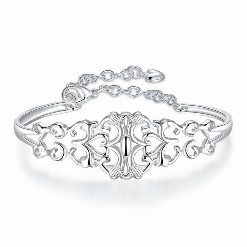 Damenarmreif DB236  T::A Neu Damen Armreif  pl mit Sterlingsilber Armband
