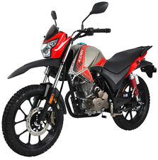 Razory Kiden K125-J 125ccm Supermoto Burgundy Crossover Euro-4 Motorrad