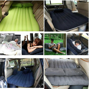 SUV-Car-Auto-Inflatable-Car-Back-Seat-Mattress-Air-Bed-Travel-Rest-Sleep-Camping