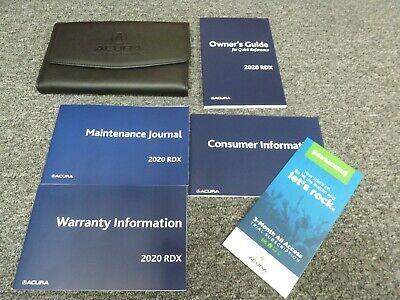 2007 Acura RDX Owners Manual Original OEM Owner Guide Book Car ...