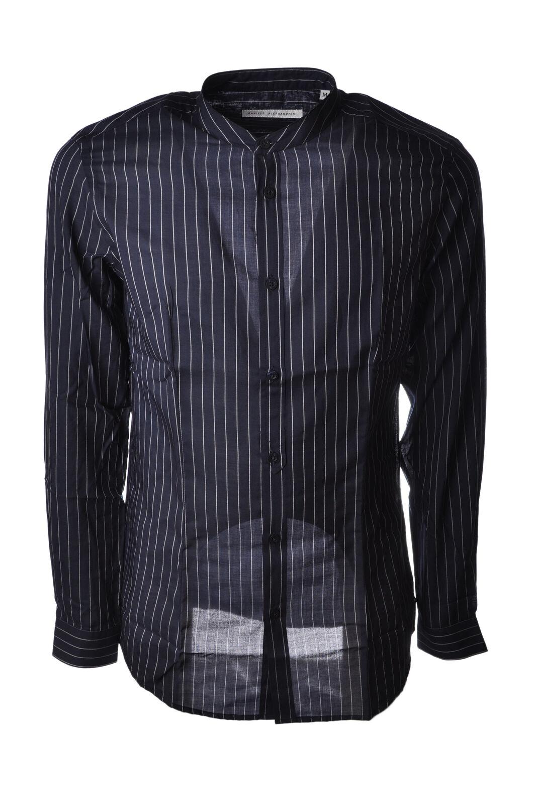 Daniele Alessandrini - Blusen-Shirt - Mann - Blau - 5044310H184539