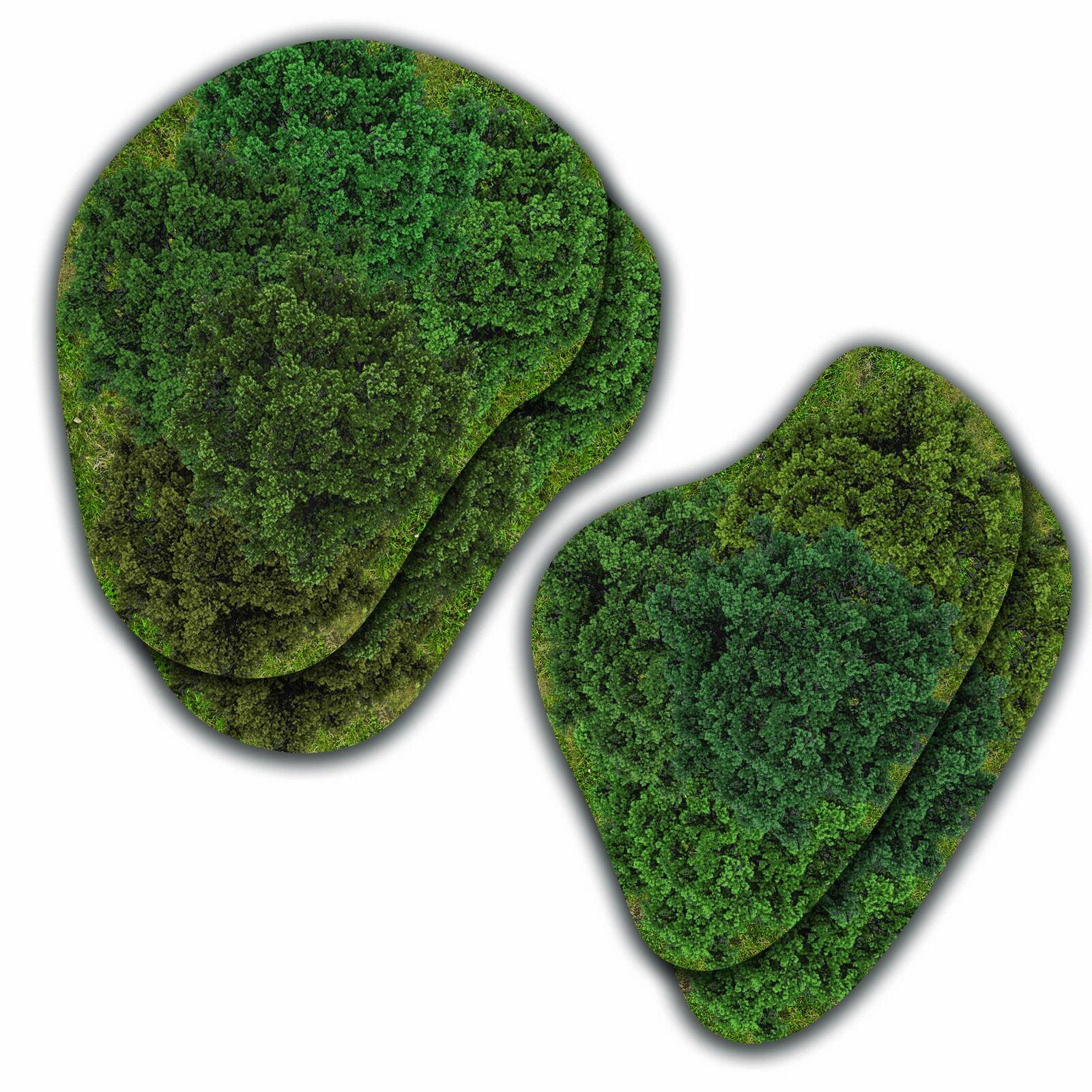 ältere stil  hiddenforest wälder 2d - terrain (mouse pad material)