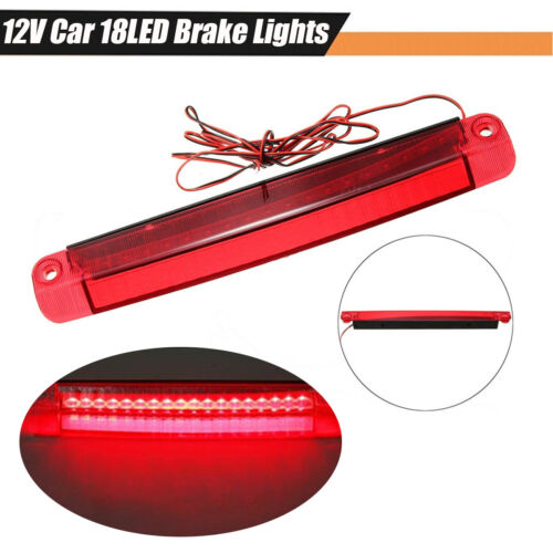 1x 5W Car Super Bright LED High Mounted Brake Stop Warning Light Lamp Waterproof