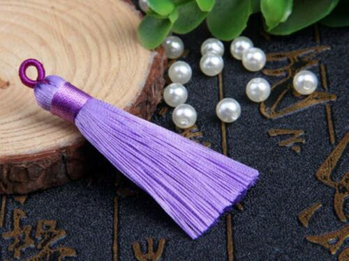V85 use for earring bookmark runner dress 5cm Long tassel Mini Eyelet 1,10 pcs