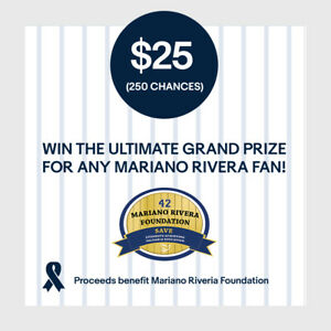 25-250-Chances-Entry-Win-Ultimate-Grand-Prize-for-Any-Mariano-Rivera-Fan