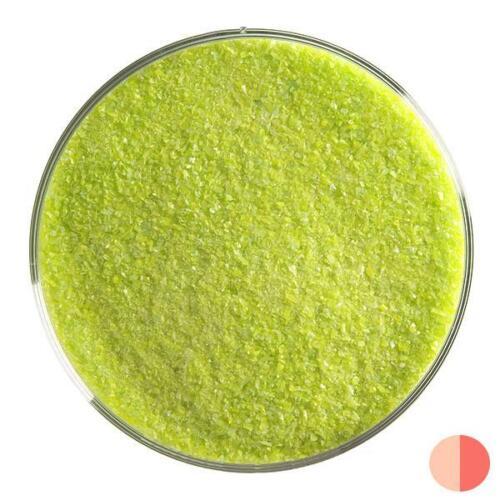 Fine Frit 01 Bullseye Spring Green Opalescent Jar COE 90 Fusible 5 lb