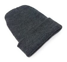 0cf2482774e Beanie Hat Mens Ladies Womens Slouch Winter Woolly Ski Knitted Turn Up Neon  Warm