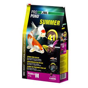 Jbl Propond Summer M 8,2 Kg Nourriture D'été Pour Koi Moyenne