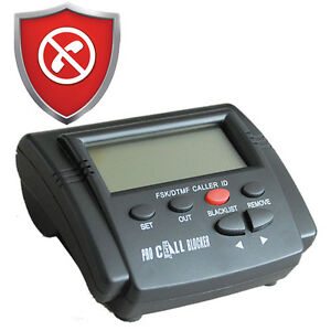PRO CALL BLOCKER - Block Telemarketers, Robo Calls, Nuisance, Scams, Frauds
