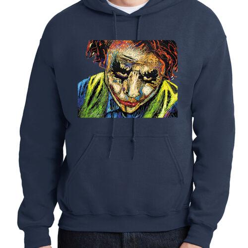 Joker Heath Ledger RIP Hoodie Dark Knight Batman Hooded Pullover 1475C
