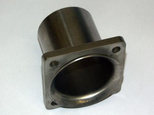 4-Loch Flansch VAG Edelstahl V2A Rohrtulpe für Brennring Rohrverbinder 60mm