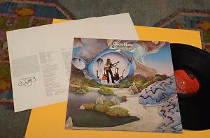 STEVE-HOWE-YES-LP-BEGINNINGS-1-ST-ORIG-ITALY-1975-GATEFOLD-INSERTI