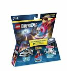 Lego Dimensions - Back to The Future Level Pack 71201 With Marty McFly