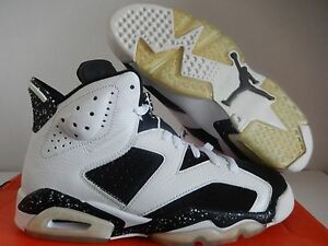new styles 3c4ad cb4f4 Details about NIKE AIR JORDAN 6 RETRO WHITE-BLACK SZ 7.5 OREO 2009 RARE!!  [384664-101]