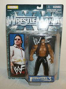 New Sealed 1998 Jakks Wrestlemania The Rock Action Figure