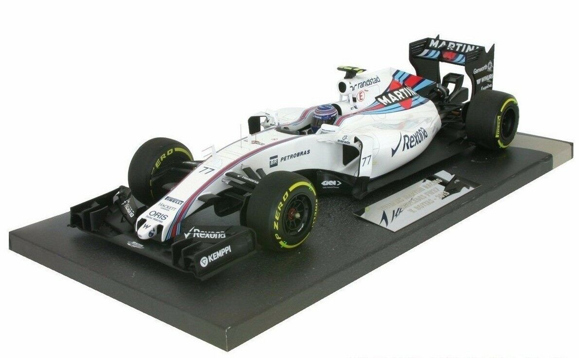 MINICHAMPS 1 18 FLORENCE BOTTAS WILLIAMS F1 MARTINI MERCEDES FW37 2015 L.ÉDITION