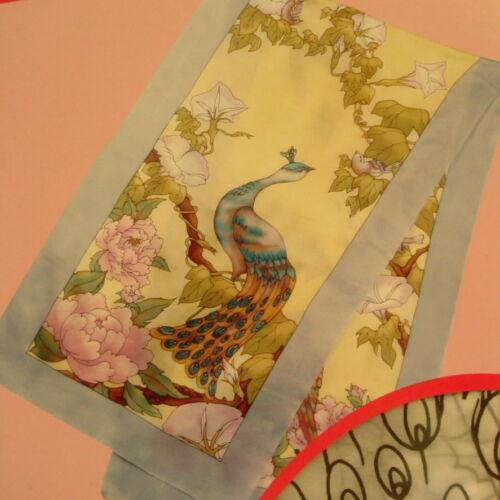 Birds of Paradise Gutta-pañuelo de seda 45x180 Ponge 8 nuevo