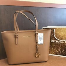 bbc8811fed5b item 4 New  278 Michael Kors Jet Set Travel Handbag Purse MK Saffiano Acorn Leather  Bag -New  278 Michael Kors Jet Set Travel Handbag Purse MK Saffiano ...