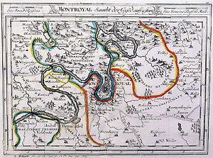 Antique map, Montroyal