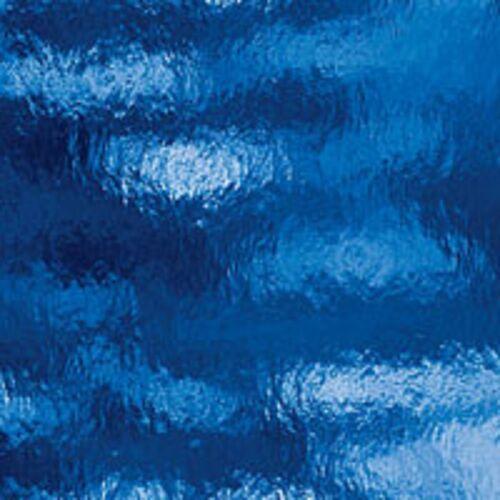 Spectrum Medium Blue Rough Rolled Glass 12 x 12 Sheet 134RR