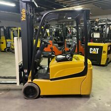 2015 Yale Erp040vtn 4000lbs Capacity Used Forklift With Triple Mast Sideshift