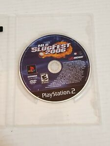 Playstation-2-MLB-Slugfest-2006-Video-Game-Disc-Loose-Generic-Case