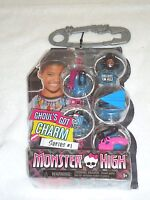 Monster High Ghoul's Got Charm Necklace 5 Charms Series 1 Unglued On 1 Side