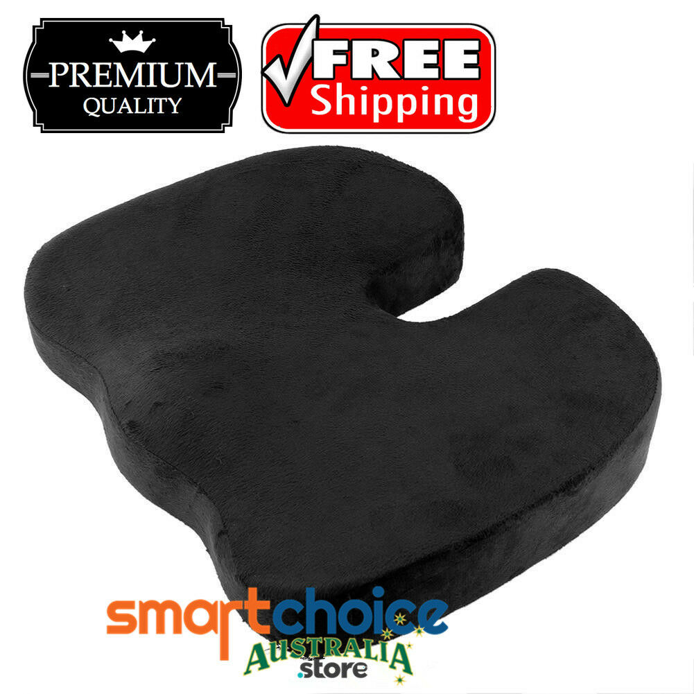 Coccyx Orthopedic Memory Foam Seat Cushion Car Office Seat