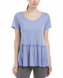 Josie by Natori Womens Modal Short Sleeve Top
