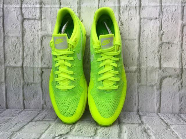 Nike Air Max Flynkit Gym Ultra Volt Green Running Gym Flynkit Jogging UK 5 Limited Edition f86316