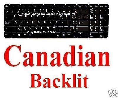 Keyboard for Toshiba Satellite L50-C L50D-C  L50-c1597 US Backlit
