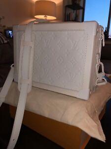 d6a8d726048c Image is loading Louis-Vuitton-VIRGIL-Soft-White-Trunk-Monogram-Men-