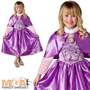 Titre De Conte Sur Afficher Fantaisie Enfant Costume D'origine Raiponce Robe Détails Fille Le Winter Disney Fée Emmêle 35A4qRjL