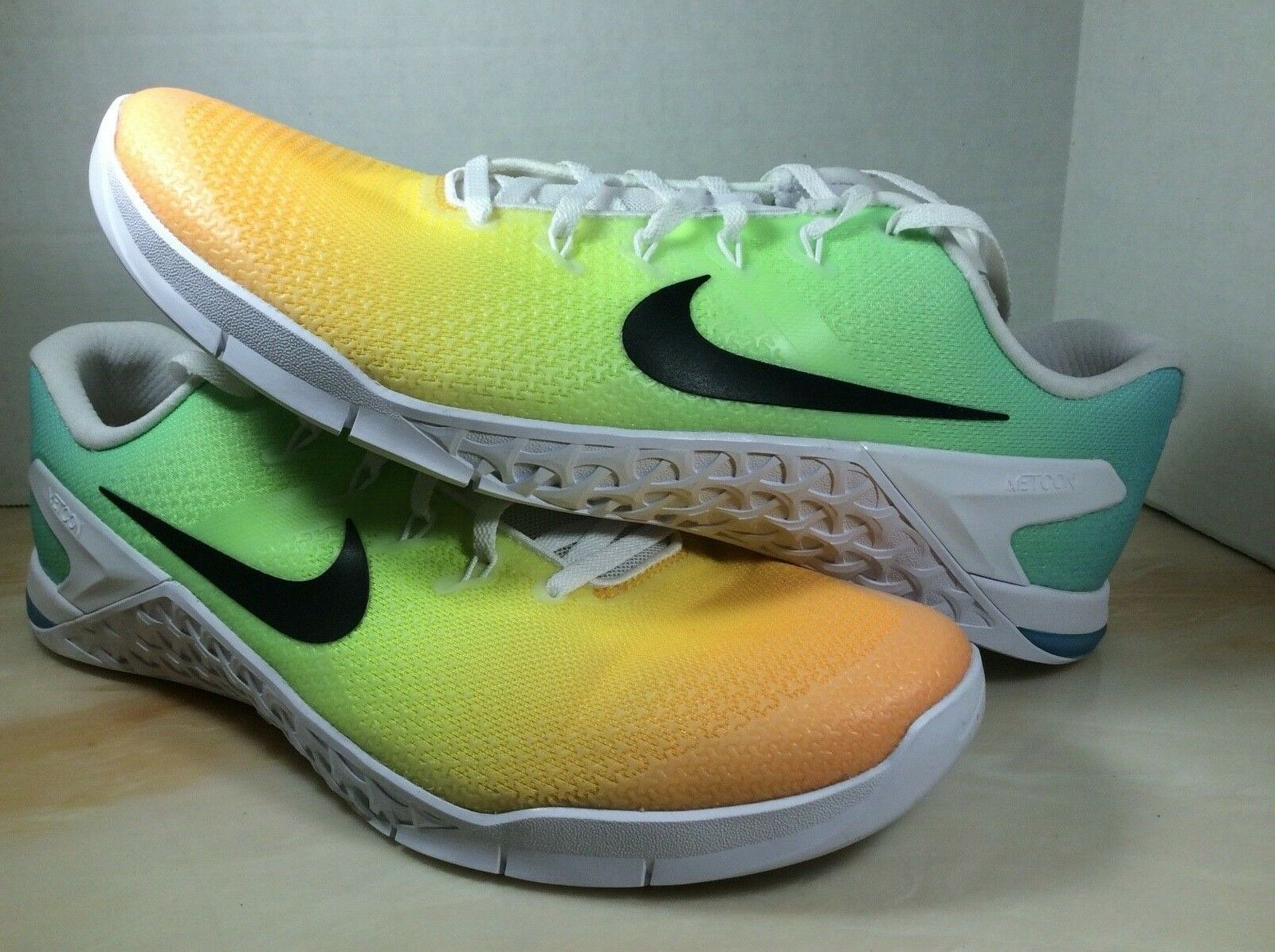 Nike Metcon 4 mens training shoes size 11.5 lagoon pulse white AH7453-104