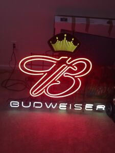 Details about Budweiser Neon Sign
