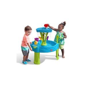 wasserspieltisch spieltisch wasser wasserspielzeug wasserspiel kinder sandkasten ebay. Black Bedroom Furniture Sets. Home Design Ideas