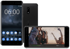 Nokia-6-Matte-Black-32GB-16-MP-5-5-Inch-LTE-4G-Android-v7-1-1-UNBOXED