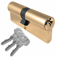 Asec Yale Style 5 Pin Euro Cylinder Nickel Plated 70mm 35//35 Lock UPVC Door
