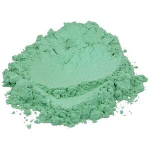 BREATH OF SPRING GREEN LUXURY MICA COLORANT PIGMENT POWDER COSMETIC GRADE 4 OZ