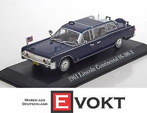 1 43 Greenlight Lincoln Continental Ss 100 X John F Kennedy 1961 Ebay