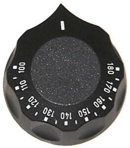 Traversino-per-Termostato-60mm-Simbolo-100-180-C-per-Asse-6x4-6mm-Nero