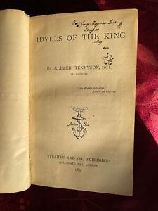 Idylls of The King Tennyson 1869 signed George Augustus Sala Savage Club